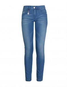 Jeans skinny vita regolare