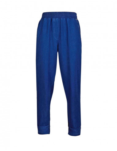Embroidered jogging trousers