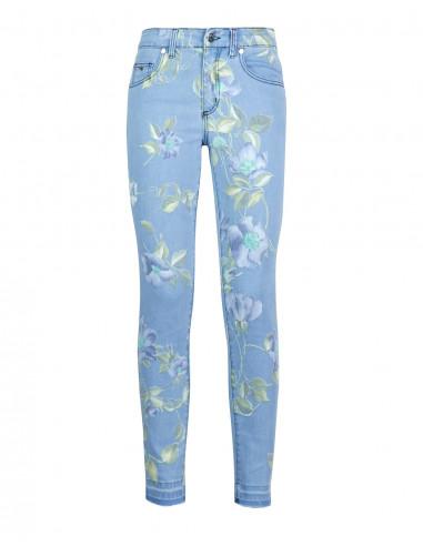 Jeans skinny stampati