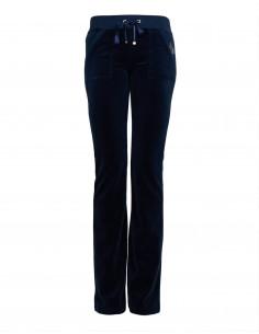 Pantalone boot cut in ciniglia