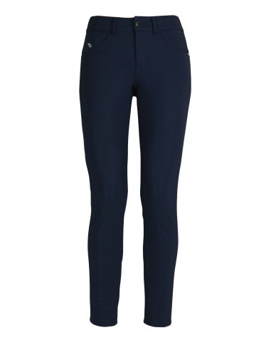 Technical skinny trousers