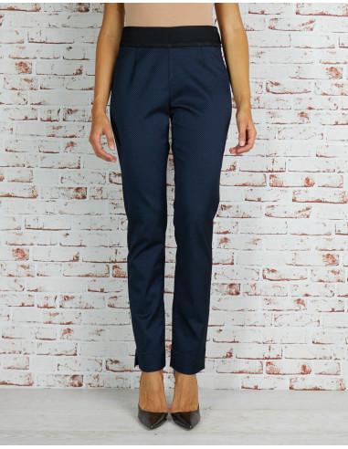 Pantalone New York jacquard