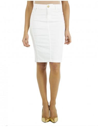 Alcantara tube skirt